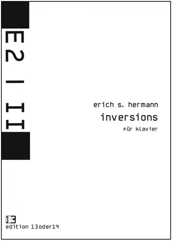 Erich S. Hermann - inversions für Klavier, Noten